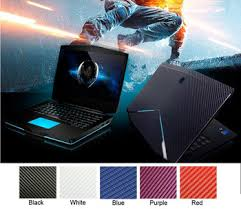 Mega Deal 725d Kh Laptop Carbon Fiber Leather Sticker Skin Cover Protector For Alienware 14 M14x R3 Anw14 Alw14 14 2013 2014 Release Cicig Co