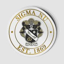 Sigma Nu Stickers Decals Greeku