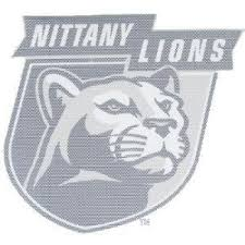Stockdale Penn State Perforated Vinyl Window Decal Nittany Lions Over Mascot Head