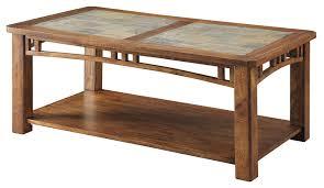 coffee table in light oak finish 703328
