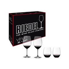 riedel 4 piece vinum xl cabernet and o