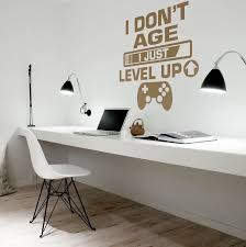 I Don T Age I Just Level Up Wall Decal Moonwallstickers Com
