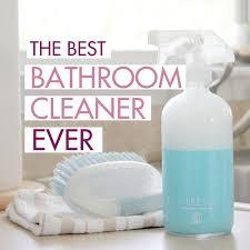 best homemade shower cleaner powers