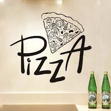 Pizza Decal Wall Sticker For Restaurant Sale Up To 70 Stickersmegastore Com