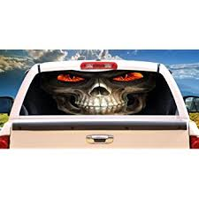 Amazon Com Signmission Reaper Rear Window Graphic Back Truck Decal Suv View Thru Vinyl Home Kitchen