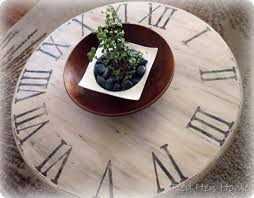 clock coffee table knockoffdecor com
