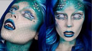 mermaid halloween makeup easy fish