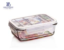 pyrex 860ml glass food lunchbox with