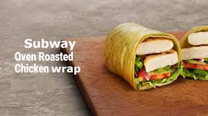 subway oven roasted en calories