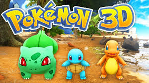 The BEST POKEMON Game EVER! (Pokemon 3D #1) - YouTube