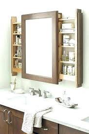 bathroom mirror floating shelves