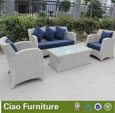 wicker rattan sofa outdoor furniture