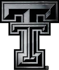 Amazon Com Ncaa Texas Tech Red Raiders Chrome Auto Emblem Decal Sports Outdoors