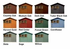One Coat Ronseal Fence Paint Colours