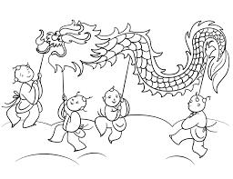 Tổng hợp các bài liên quan đến Tranh tô màu ngày Tết trung thu trẻ em múa  rồng
