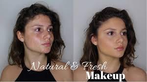 natural fresh makeup tutorial an