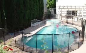 In Ground Pool Safety Fence Pool Care Solutions