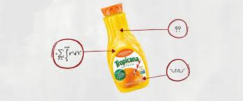 what s in this tropicana orange juice