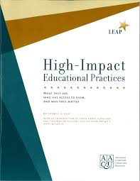 High-impact Educational Practices book