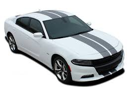 N Charge Rally 15 Dodge Charger Racing Stripes Hood Decal Roof Bumpers Vinyl Graphic Fits 2015 2020 Moproauto Professional Vinyl Graphics And Striping