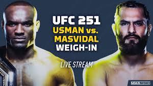 UFC 251: Kamaru Usman vs. Jorge ...