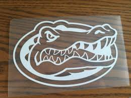Find Florida Gators Vinyl Decal Sticker Car Truck Laptop Chomp Motorcycle In Dothan Alabama Us For Us 0 01