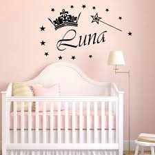 Personalized Custom Name Wall Sticker For Kids Rooms Decal Bedroom Decor Vinyl Stickers Mural House Decoration Wallpaper Lw515 Wall Stickers Aliexpress