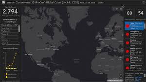 Coronavirus, ecco la mappa per monitorare la diffusione dell ...