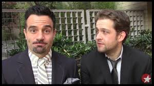 Ramin karimloo and andrew kober broadway les miserables les miz ...