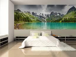 Altai Mountain Lake Wall Mural Mountain Mural Eazywallz