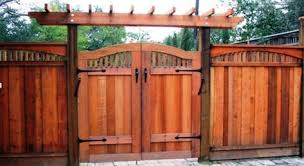 Best Redwood Double Gate Fence Designs Google Search Fence Gate Design Wood Fence Gate Designs Fence Design