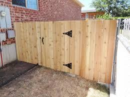 thinking about wood fence gate hardware