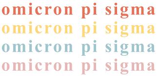 Aaron Leek - Omicron Pi Sigma