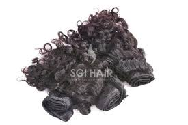 raw indian human hair curly raw