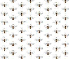 queen bee wallpaper designed by