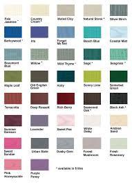 Colour Charts Cuprinol Garden Shades Fence Paint Colours Paint Color Chart