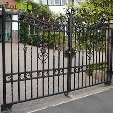Other Simple Metal Gate Beautiful On Other Intended For House Design Buy 4 Simple Metal Gate Contemporary On Other With Driveway Design Ideas Get Inspired By Photos Of 21 Simple Metal Gate