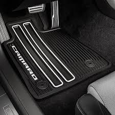 2017 camaro floor mats black front
