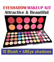 eyeshadow palette makeup kit 10 blush