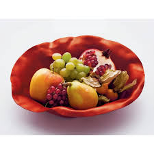 alessi sarria bowl in red limited