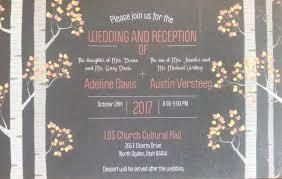 Announcements: Wedding Celebration - North Ogden Connection