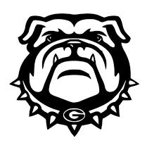 Georgia Bulldogs Decal Vinyl Decal Car Truck Suv Glasses Etsy
