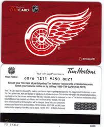 detroit red wings nhl hockey tim