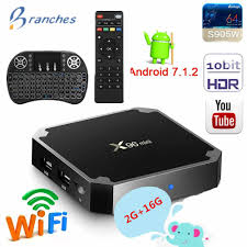 X96 mini tv box android 7.1 2GB 16GB Amlogic S905W tvbox Quad Core WiFi  Media Player 1GB 8GB X96mini smart Set top tv Box|
