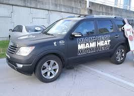 Heat Week Heat Car Decal Event 10 16 17 Miami Heat