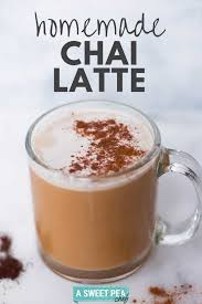how to make the perfect chai latte at