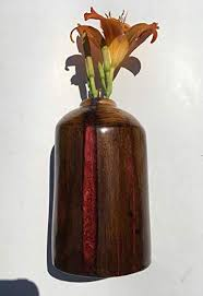 Amazon Com Fence Post Lava Vase Made From Old Cedar Fence Posts Handmade