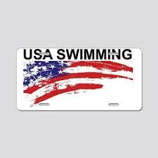 Usa Swimming Car Accessories Cafepress