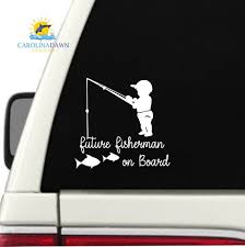 Little Mermaid Inspired Car Decal Sticker Baby On Board Truck Sign