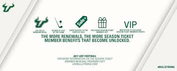 Usf Football On Twitter Get Access To Exclusive Season Ticket Member Gifts And Benefits By Renewing Your Season Tickets Today Renew Https T Co Zr5fojpzrm Https T Co Idiv0zl9vs